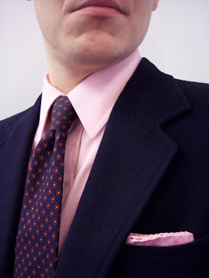 Paul Walters on Style: Reader's Question: The Pink Shirt